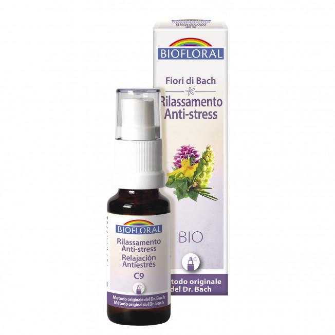 Complesso 09 - Rilassamento, Anti-stress - Spray - 20 ml | Biofloral