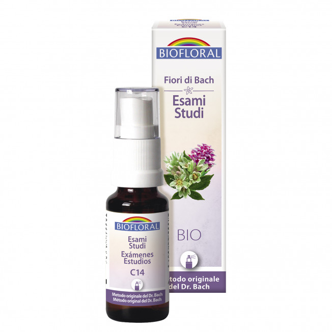 Complesso 14 - Esami, Studi - Spray - 20 ml   Biofloral